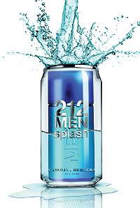 Carolina Herrera / 212 Men Splash - мужские духи/парфюм/туалетная вода