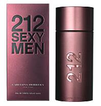 Carolina Herrera / 212 Sexy Men - мужские духи/парфюм/туалетная вода
