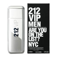 Мужские духи Carolina Herrera 212 VIP Men